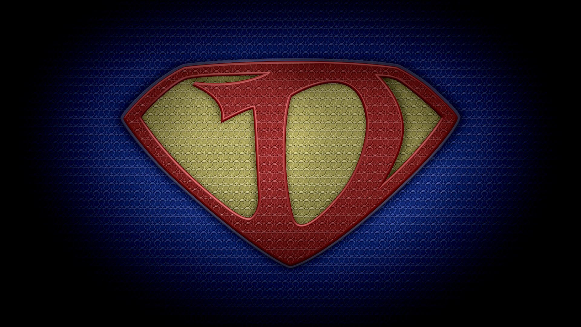 "The letter D in the style of ""Man of Steel"" – color ..."