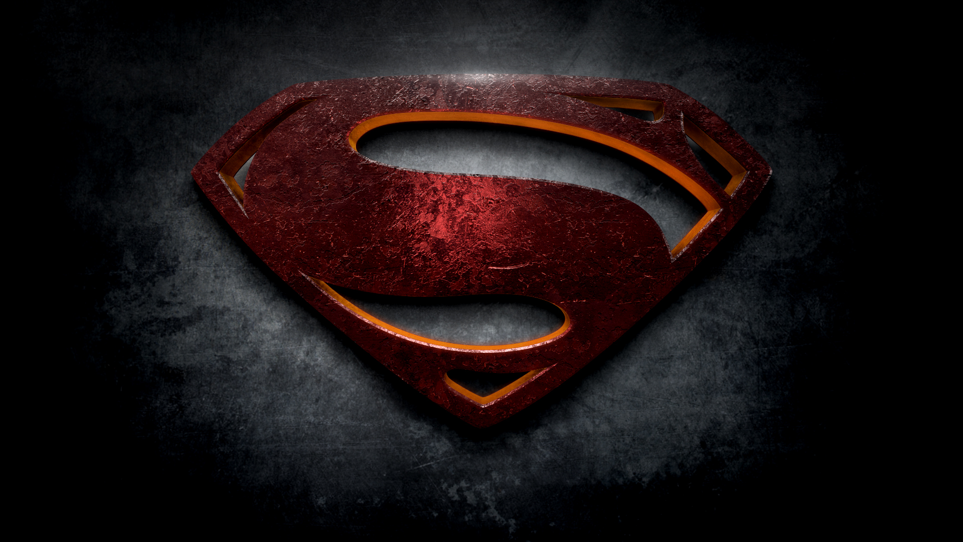 """The Letter S In The Style Of """"Man Of Steel"""""""